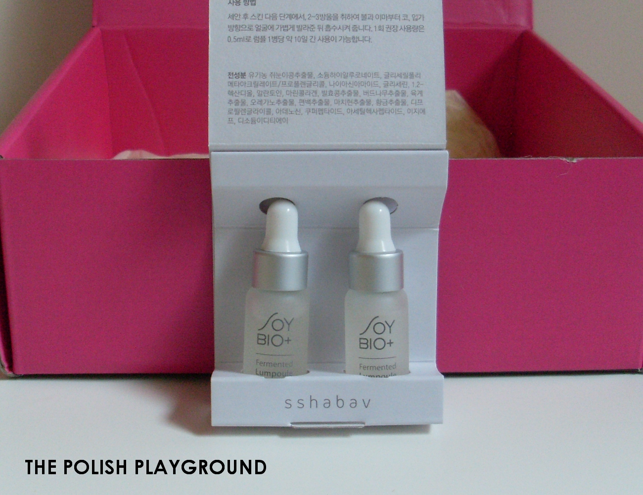 Memebox Luckybox #11 Unboxing - Soy BIO+ Fermented Lumpoule