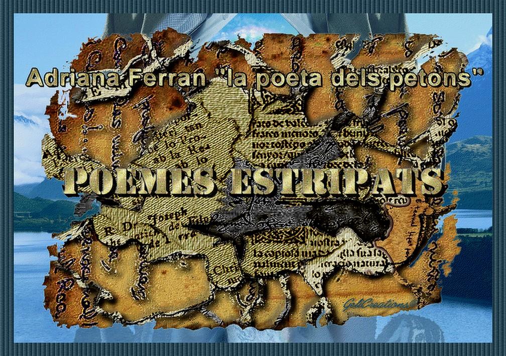 Poemes estripats per Adriana Ferran