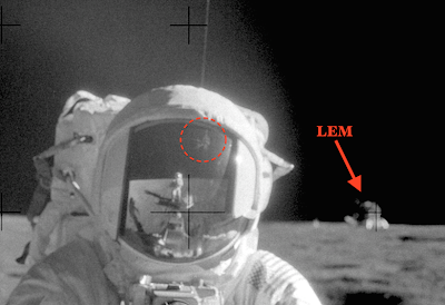 UFO Spotted In Astronauts Helmet Apollo 12, UFO Sightings
