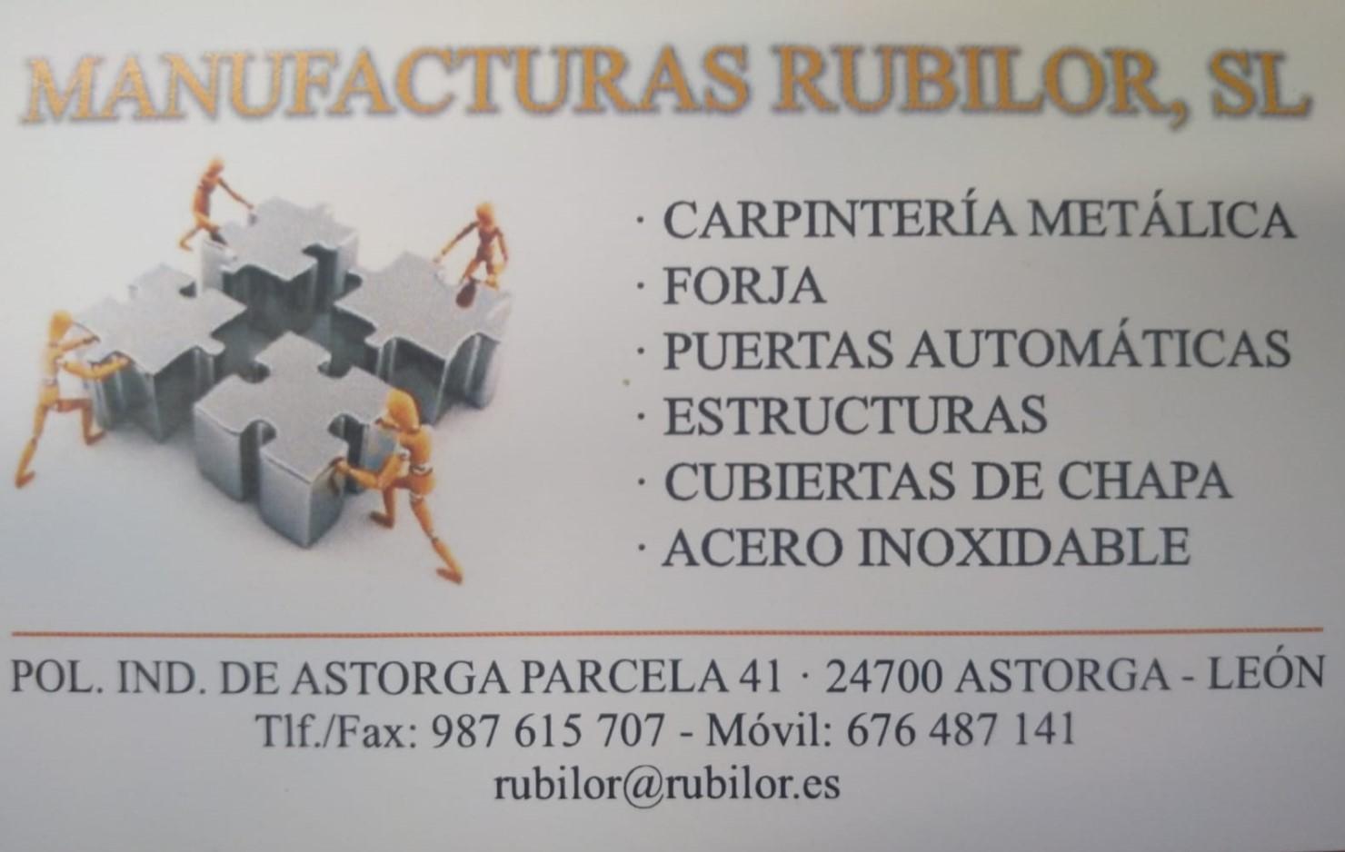 MANUFACTURAS RUBILOR, SL