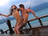 Sexo no barco com muita gozada