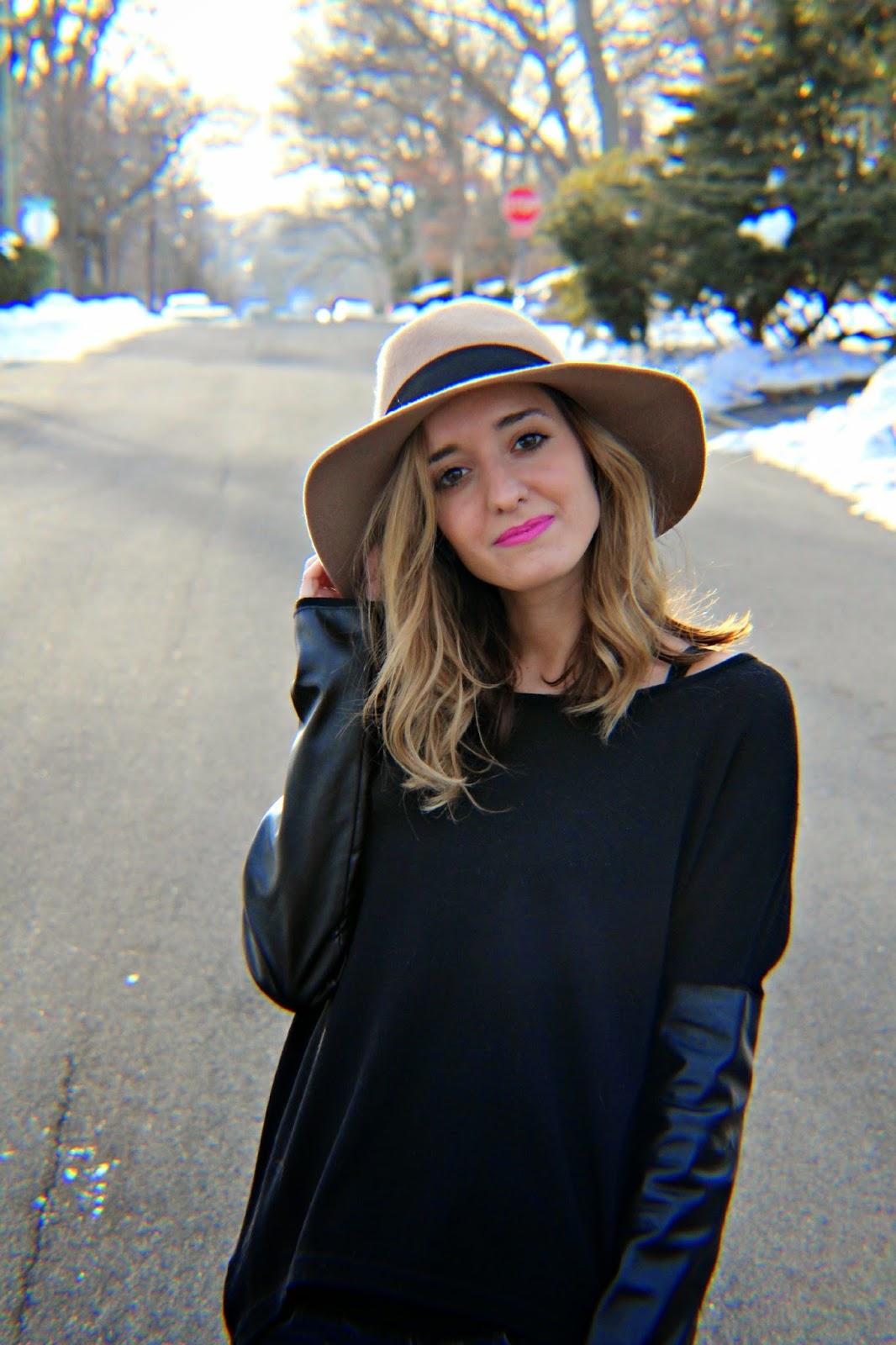 express felt hat