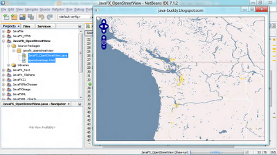 Embed OpenLayers with OpenStreetMap in JavaFX WebView