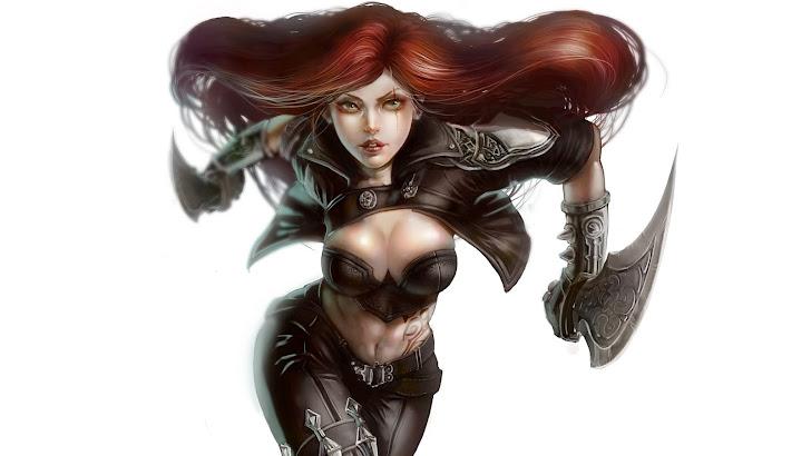 Katarina Charge Sword
