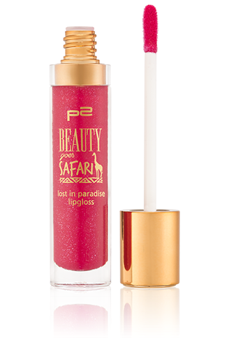 Preview: p2 Limited Edition: Beauty goes Safari - lost in paradies lipgloss - www.annitschkasblog.de