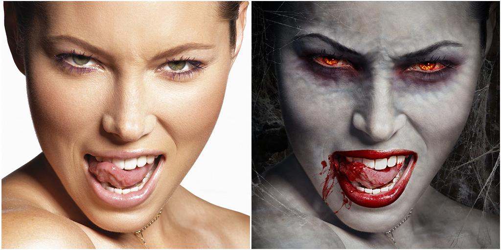 Как сделать из себя вампира в домашних условиях