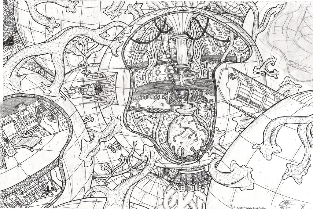 Doctor Who Coloring Pages Pdf : Playstation home dr who role playing