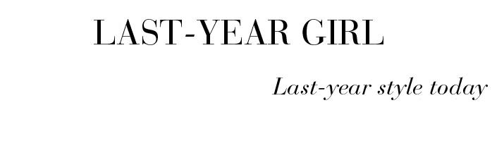 Last-Year Girl