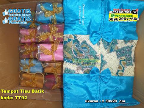Tempat Tisu Batik murah