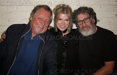 "Cindy Jackson with ""Starsky and Hutch"" at David Soul's 70th birthday"