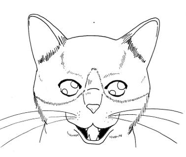 Dessin chat manga - Chat dessin manga ...