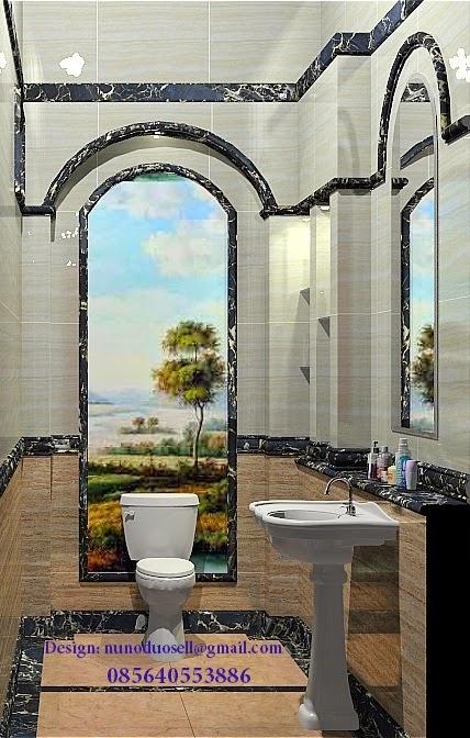 INTERIOR GRANITE / MARBLE: design toilet kamar mandi mewah ...