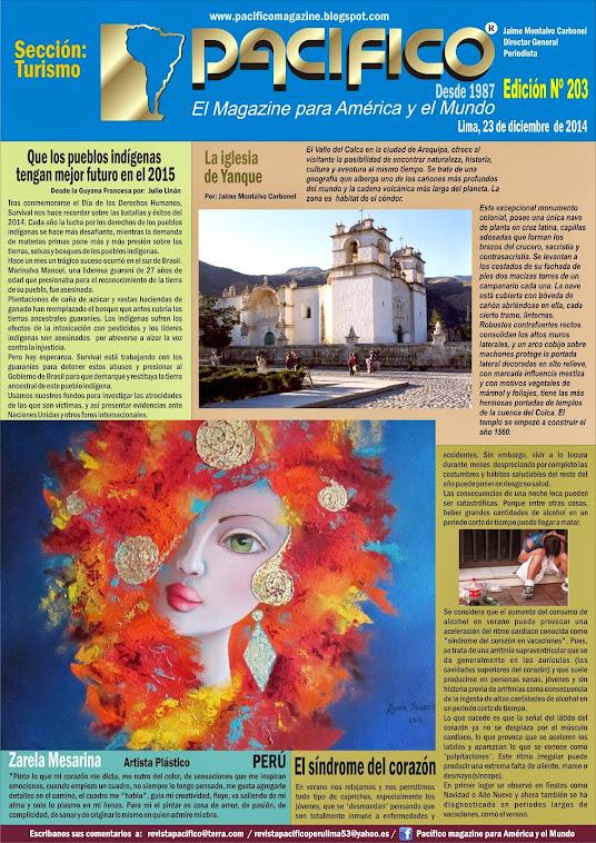 Revista Pacífico Nº 203 Turismo