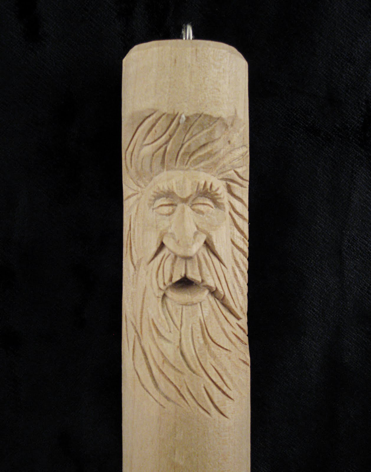 Flying chips the magic of faces for Learning wood carving