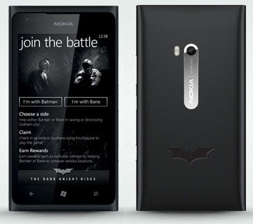 Nokia Lumia 900 Batman Dark Knight Rises