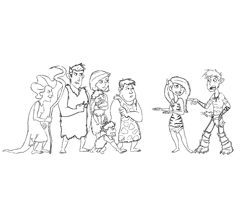 The Croods Coloring Sheets Coloring Pages The Croods Coloring Pages