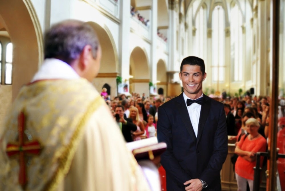 Dream Wedding: Cristiano Ronaldo married herself