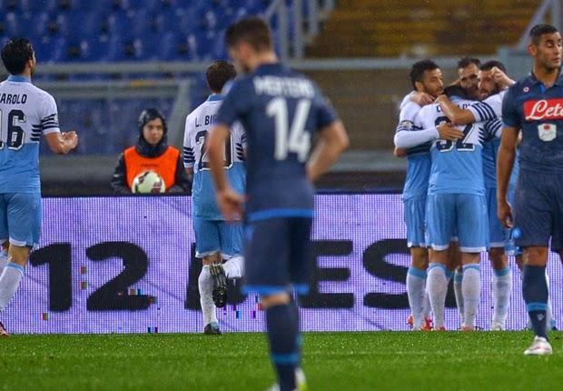 Lazio Bermain Imbang 1-1 Lawan Napoli