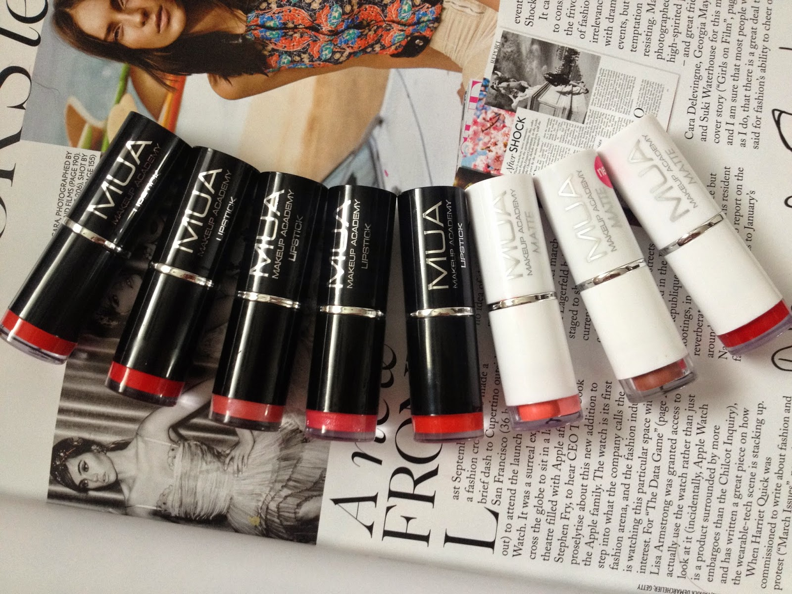 MUA Haul // Lipsticks