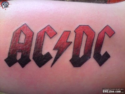 Tatuagens de bandas do Rock