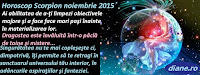 Horoscop Scorpion noiembrie 2015