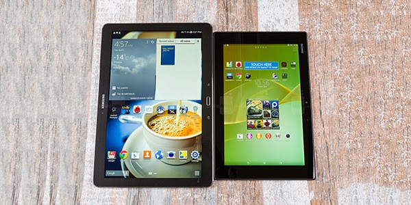 Sony Xperia Z2 Tablet vs. Samsung Galaxy NotePRO 12.2