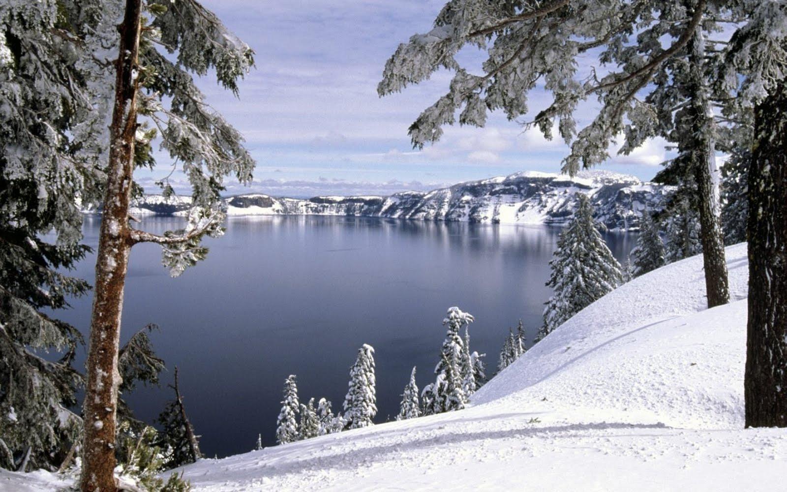 scenic winter beautiful wallpapers - photo #35