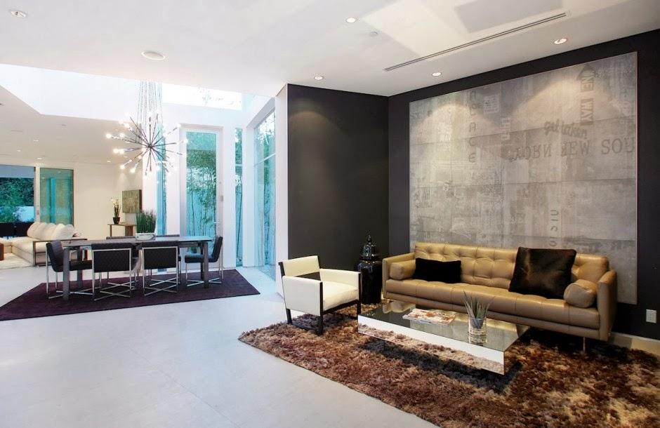 Dise o interior casa mansfield por amit apel design for Disenos de interiores en casas