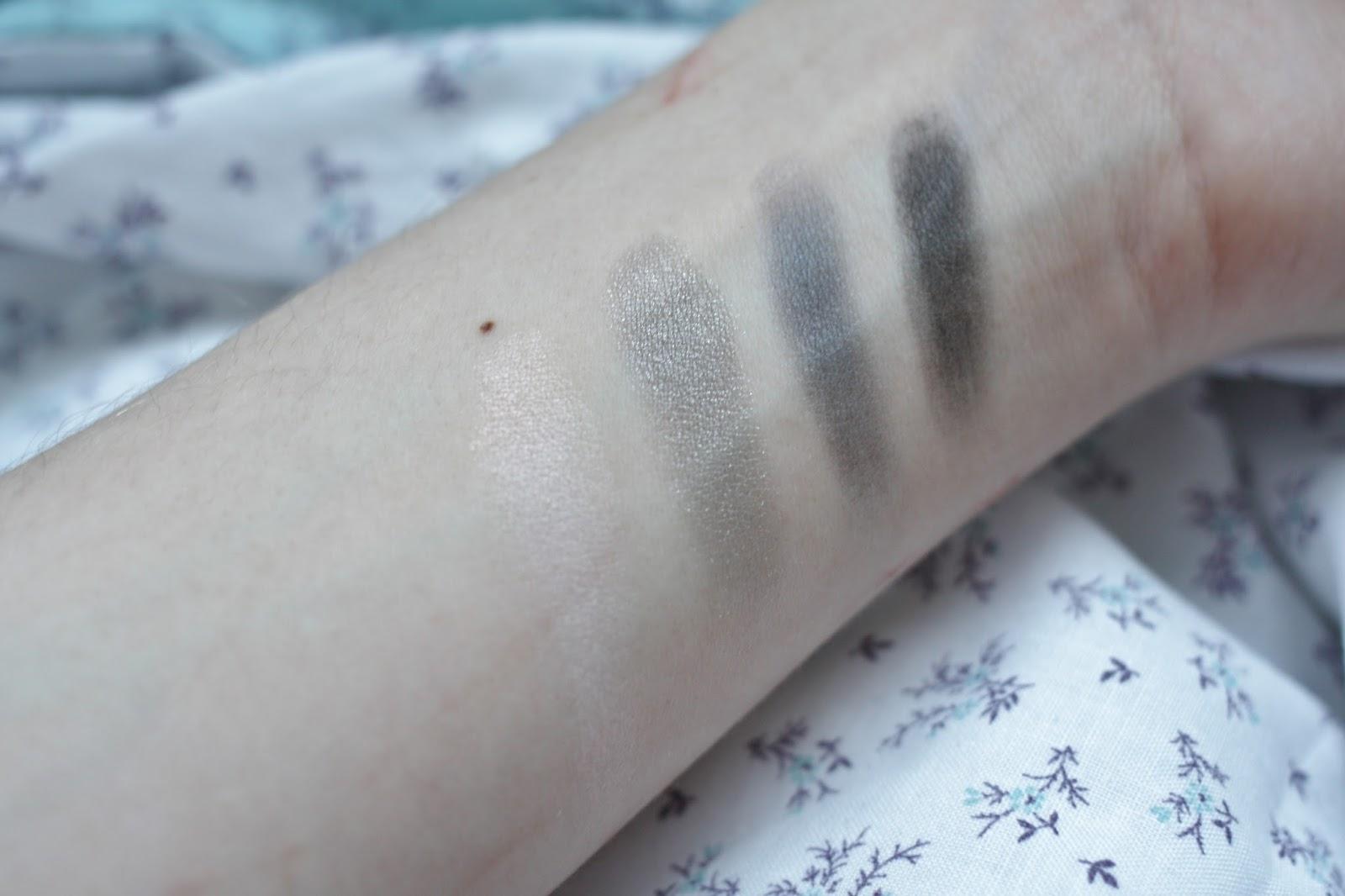 Nars Dual Intensity Eyeshadow Palette Swatches