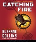 Catching Fire by Suzanne Collins audio cover