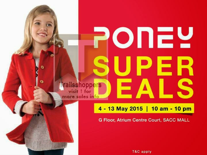 Poney Malaysia Clothes Kids Sale