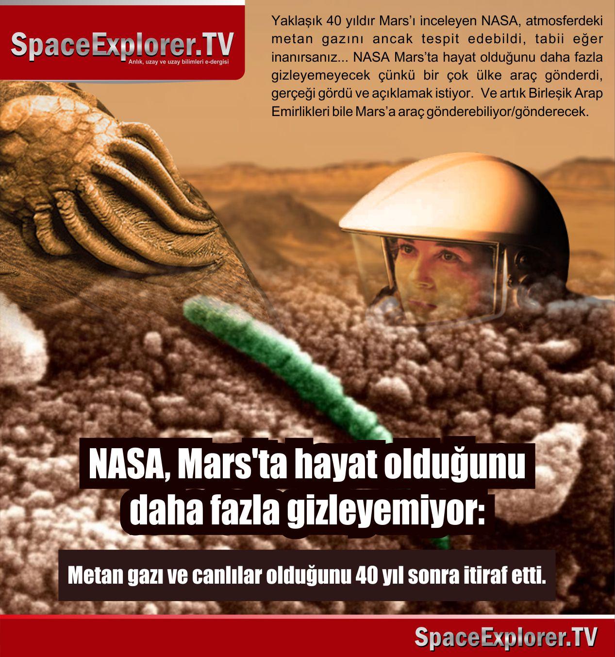 NASA, NASA neden gizliyor, Ay'a bir daha neden gitmediler, Uzayda hayat var mı?, Dünya dışı yaşam, Mars'ta yaşam var mı, Mars'lılar müslüman mı, Müslüman uzaylılar,