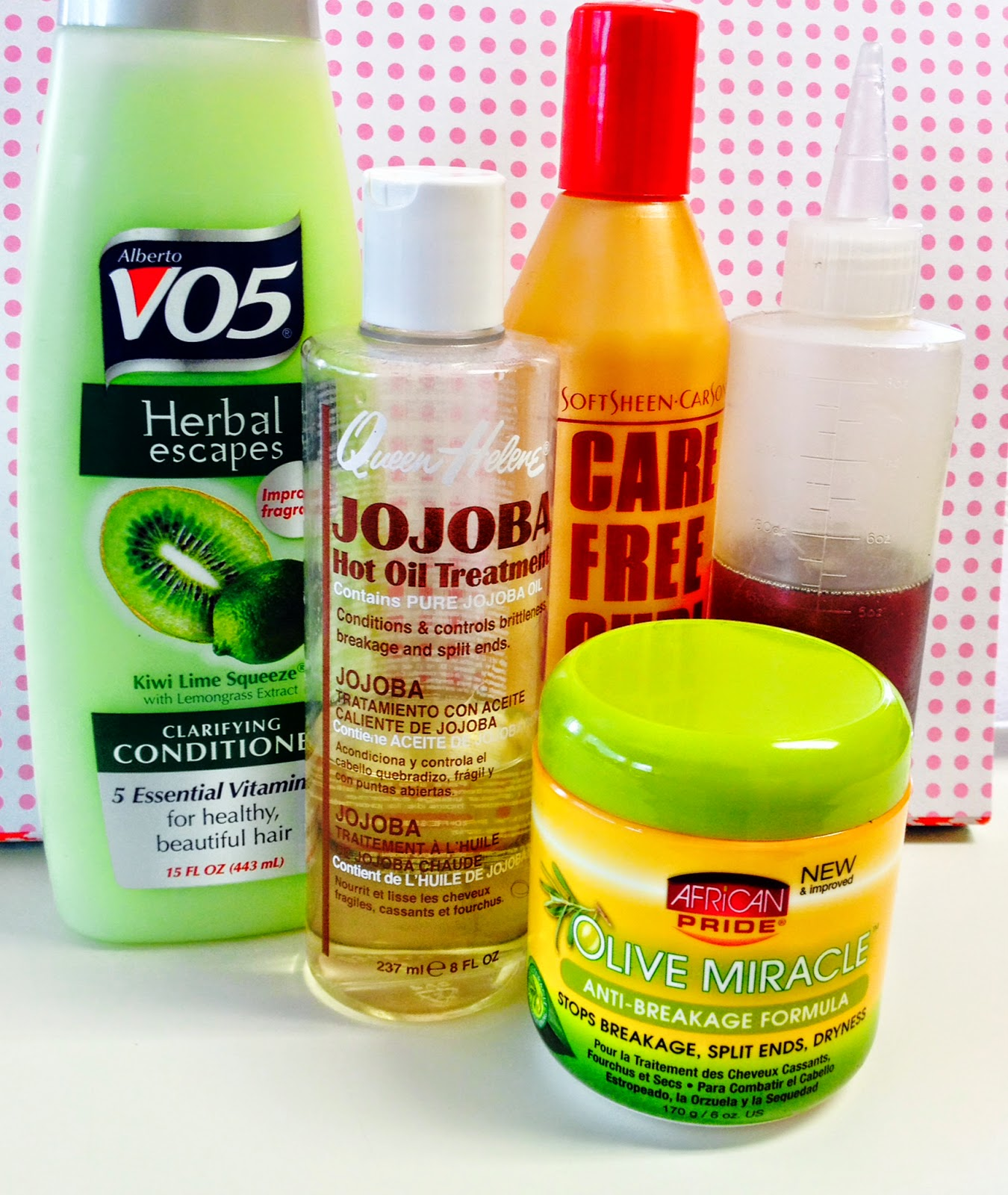 Co-Washing My Hair With Alberto V05 Herbal Escape Clarifying Conditioner