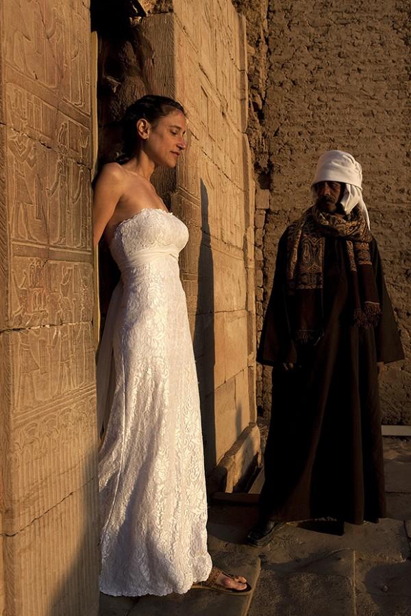 fotografía boda vestido de novia