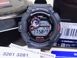 CASIO G-SHOCK MUDMAN G-9300-1DR - TWIN SENSOR - TOUGH SOLAR
