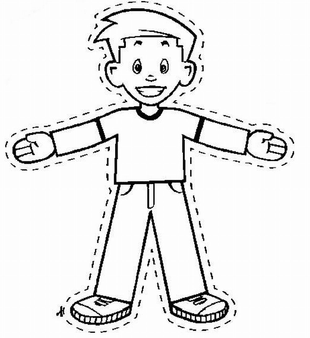 Free Coloring Pages Of Flat Stanley Pages Flat Stanley Coloring Page