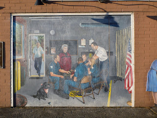 Sultan Firefighters Mural