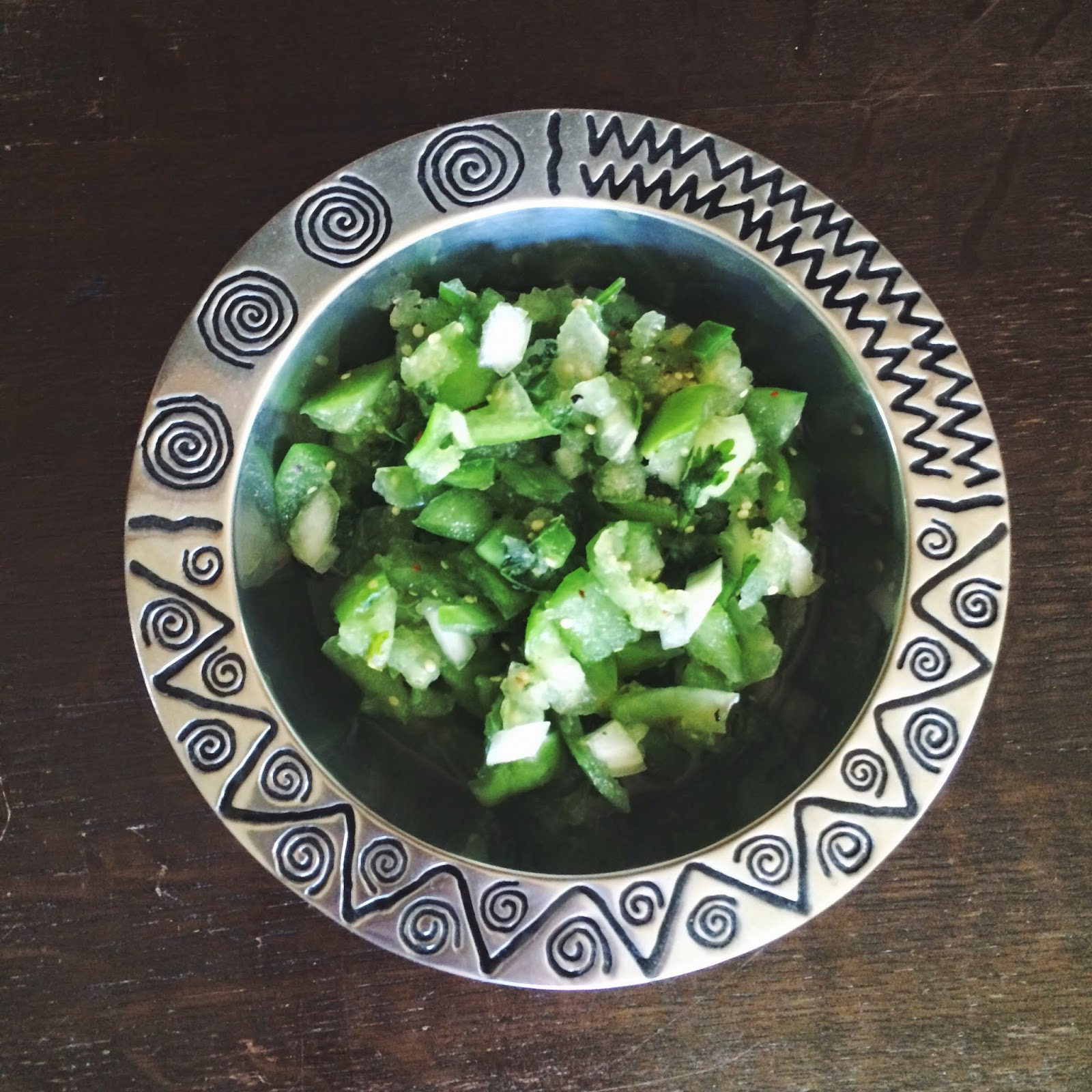 Cookbook, Recipe, Green Salsa, Green Tomatos, Tomatomania