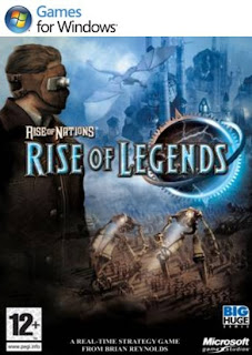 Rise of Nations: Rise of Legends PC Cover