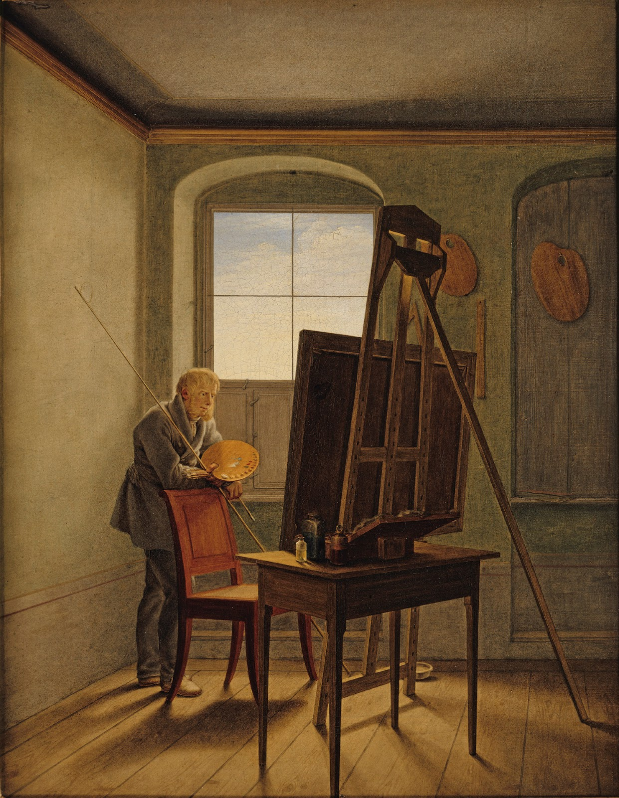 Art artists caspar david friedrich part 2 for Fenetre atelier