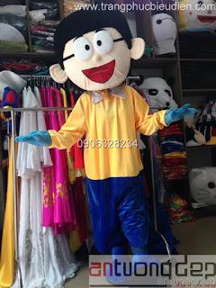 cho thuê mascot nobita