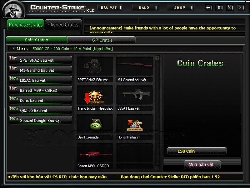 Crossfire Offline versão 2012 CS-Red-2012-v5.2.4