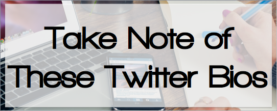 Closely examine the Twitter bios and feed of top tweeps to make your account and tweets searchable, connect with others, and increase engagement on the content you are sharing.