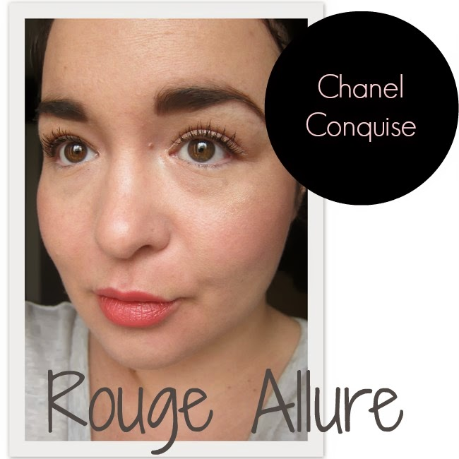 Chanel Rouge Allure Conquise Swatch