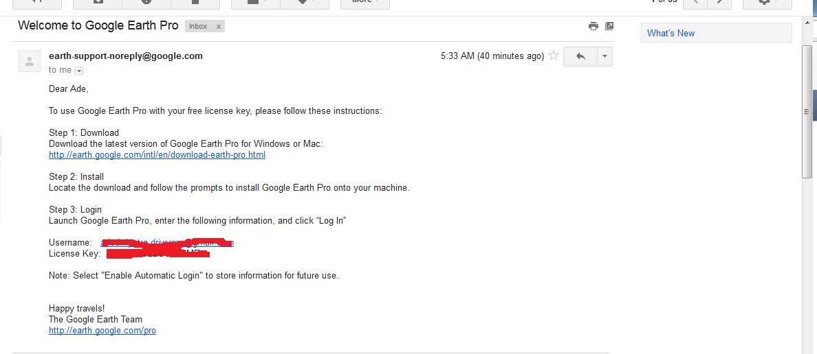Cara Mendapatkan Serial Key Google Earth Pro Secara Gratis