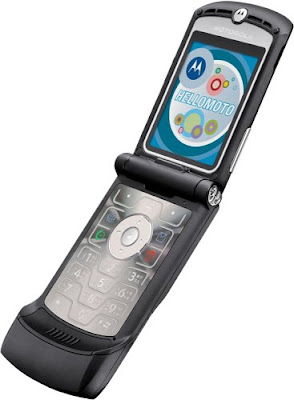 original motorola razr, flip phone, camera, touch