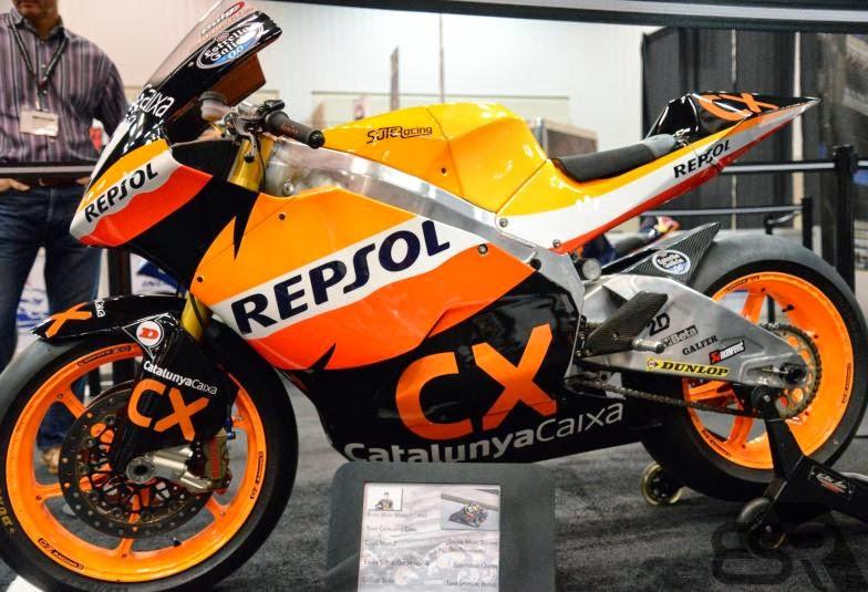 Motor Marc Marquez Eskill Suter 600cc