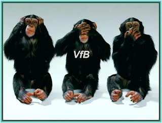 Wie die drei Affen: Oberbürgermeister Stumpf, Schelsky und Stadtrat Endres