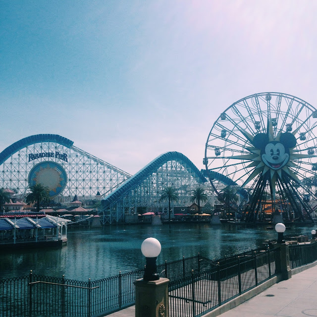California Adventure view of pier
