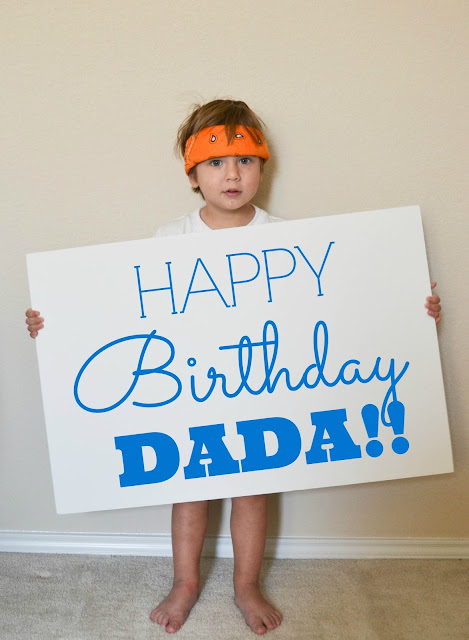 Our Love and Our Blessing: HAPPY BIRTHDAY, DADA!!